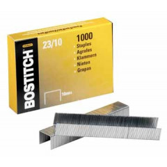 Nietjes Bostitch 23/10 verzinkt 10mm (1000)