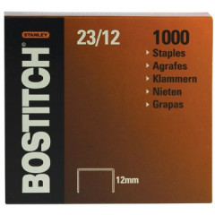 Nietjes Bostitch 23/12 verzinkt 12mm (1000)