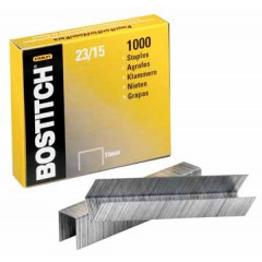 Nietjes Bostitch 23/15 verzinkt 15mm (1000)