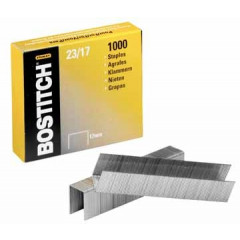 Nietjes Bostitch 23/17 verzinkt 17mm (1000)