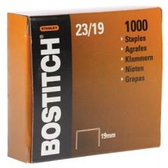 Nietjes Bostitch 23/19 verzinkt 19mm (1000)