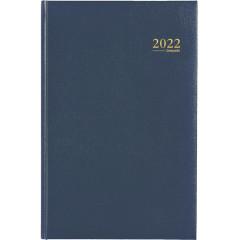 Agenda Brepols Saturnus Lima NL blauw 2020 1 week/2 pagina's
