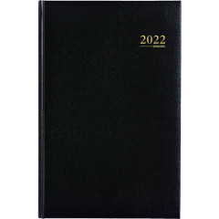 Agenda Brepols Saturnus Lima NL zwart 2020 1 week/2 pagina's