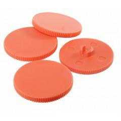 Perforator Rapid HDC150/4 4-gaats 150 vel zilver/oranje (2322310)