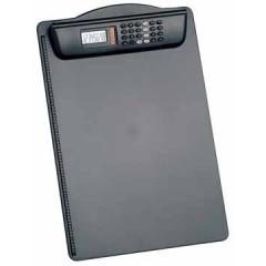 Klemplaat Maul kunststof A4 inclusief rekenmachine