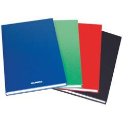 Magazijnboek Aurora 21,5x33,5cm gelijnd 192blz assorti