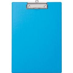 Klemplaat Maul PP A4 lichtblauw