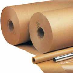 Inpakpapier op rol 5 M x 70cm 90gr kraft bruin