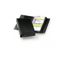 Visitekaartenmap Durable Visifix 255x145mm voor 200 kaarten zwart (D238301)