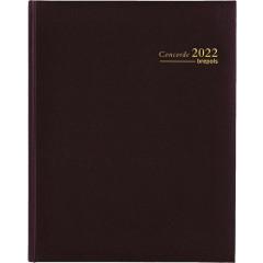 Agenda Brepols Concorde Lima zwart 2020 1 week/2 pagina's