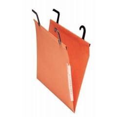 Hangmap Esselte Orgarex Kori Filcontrol karton 200mm V-bodem kast oranje (25)(2410200)