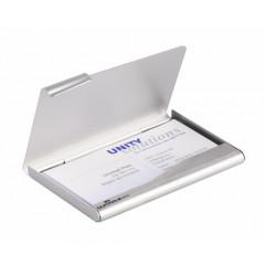Visitekaartenhouder Durable aluminium 90x55cm (D241523)