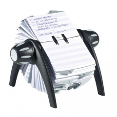 Adresgegevenssysteem Durable vegas telindex flip metallic/zilver (D241623)