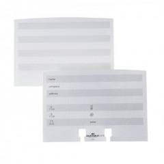 Indexkaarten voor Durable telindex flip, desk & cubo wit (100) (D241902)