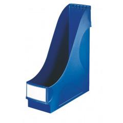 Tijdschriftencassette Leitz standaard PP 75mm blauw (242535)