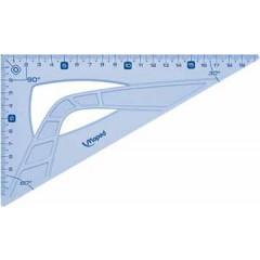 Tekendriehoek winkelhaak Maped geometric 21cm 60° blauw