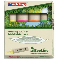 Markeerstift Edding 24 EcoLine assorti (4)