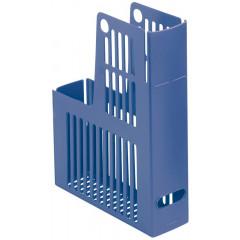 Tijdschriftencassette Esselte collecta PP 75mm blauw (2464600)