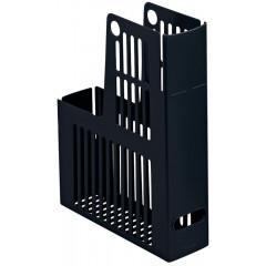 Tijdschriftencassette Esselte Collecta PS A4 72mm zwart (2465100)