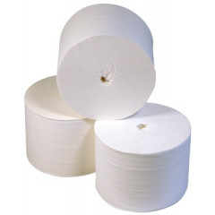 Toiletpapier Europroducts 2-laags zonder huls wit (36)