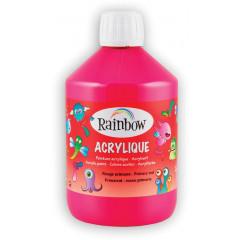 Acrylverf Rainbow 500ml rood