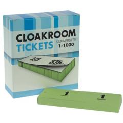 Nummerblok dubbele nummers 1-1000 groen (10x100)