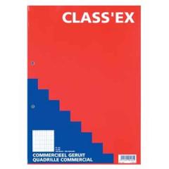 Cursusblok Classex A4 70gr com. geruit