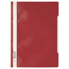 Snelhechtmap Durable A4 PP rood (50) (D257303)
