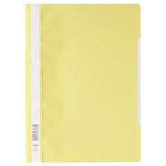Snelhechtmap Durable A4 PP geel (50) (D257304)