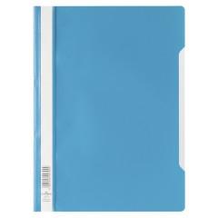 Snelhechtmap Durable A4 PP blauw (50) (D257306)