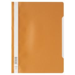 Snelhechtmap Durable A4 PP oranje (50) (D257309)