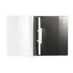 Snelhechtmap Durable Duraplus De Luxe PP A4 maxi zwart
