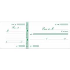 Kwijtschrift Exacompta franstalig 10,5x27cm 50bl