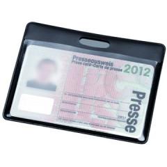 Kaarthouder Hidentity 90x60mm zwart