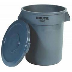 Deksel Rubbermaid Brute voor afvalcontainer grijs