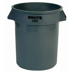 Afvalcontainer Rubbermaid Brute 76l grijs