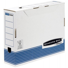 Archiefdoos Fellowes Bankers Box System 26x8x31,5cm blauw