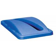 Deksel Rubbermaid voor vuilniscontainer Slim Jim voor papier blauw