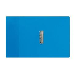 Klemplaat Esselte met overslag PVC A4 blauw