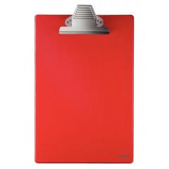 Klembord Esselte PP A4 zonder omslag rood