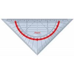 Geodriehoek Maped technic 16cm 45°