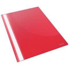 Snelhechtmap Esselte Vivida PP A4 rood (25)