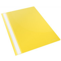Snelhechtmap Esselte Vivida PP A4 geel (25)