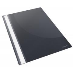 Snelhechtmap Esselte Vivida PP A4 zwart (25)