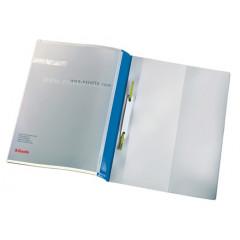 Snelhechtmap Esselte PVC A4 personaliseerbaar blauw (25)