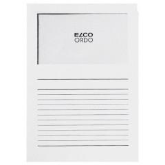 L-map Elco Ordo met venster A4 120gr wit (100)