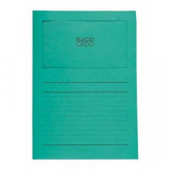 L-map Elco Ordo met venster A4 120gr smaragd (100)