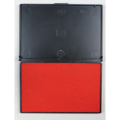 Stempelkussen STAR 11x7cm rood
