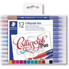 Kalligrafiepen Staedtler 3005 assorti (12)