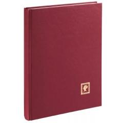 Postzegelalbum Pagna A4 karton 32vel rood rood